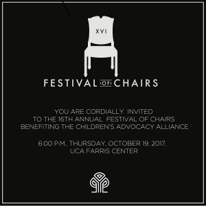 16TH ANNUAL FESTIVAL OF CHAIRS @ UCA FARRIS CENTER | Conway | Arkansas | United States