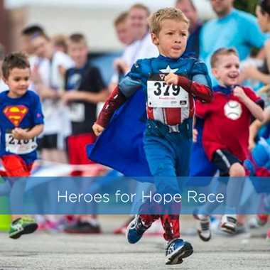 2. Heroes for Hope Race